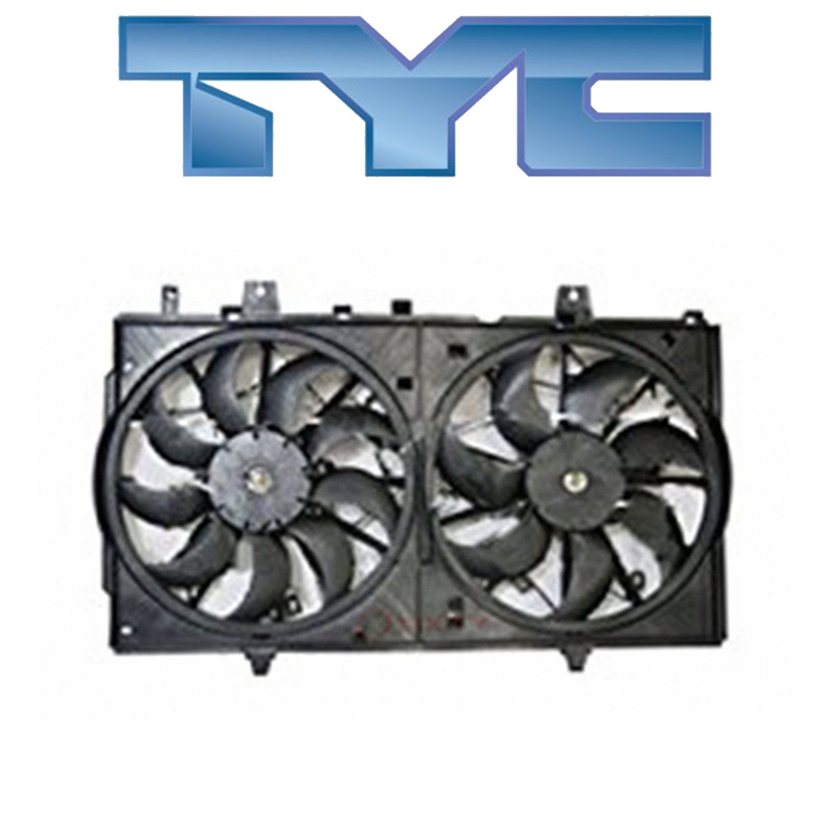 TYC 623400 Replacement Cooling Fan Assembly for Nissan Rogue