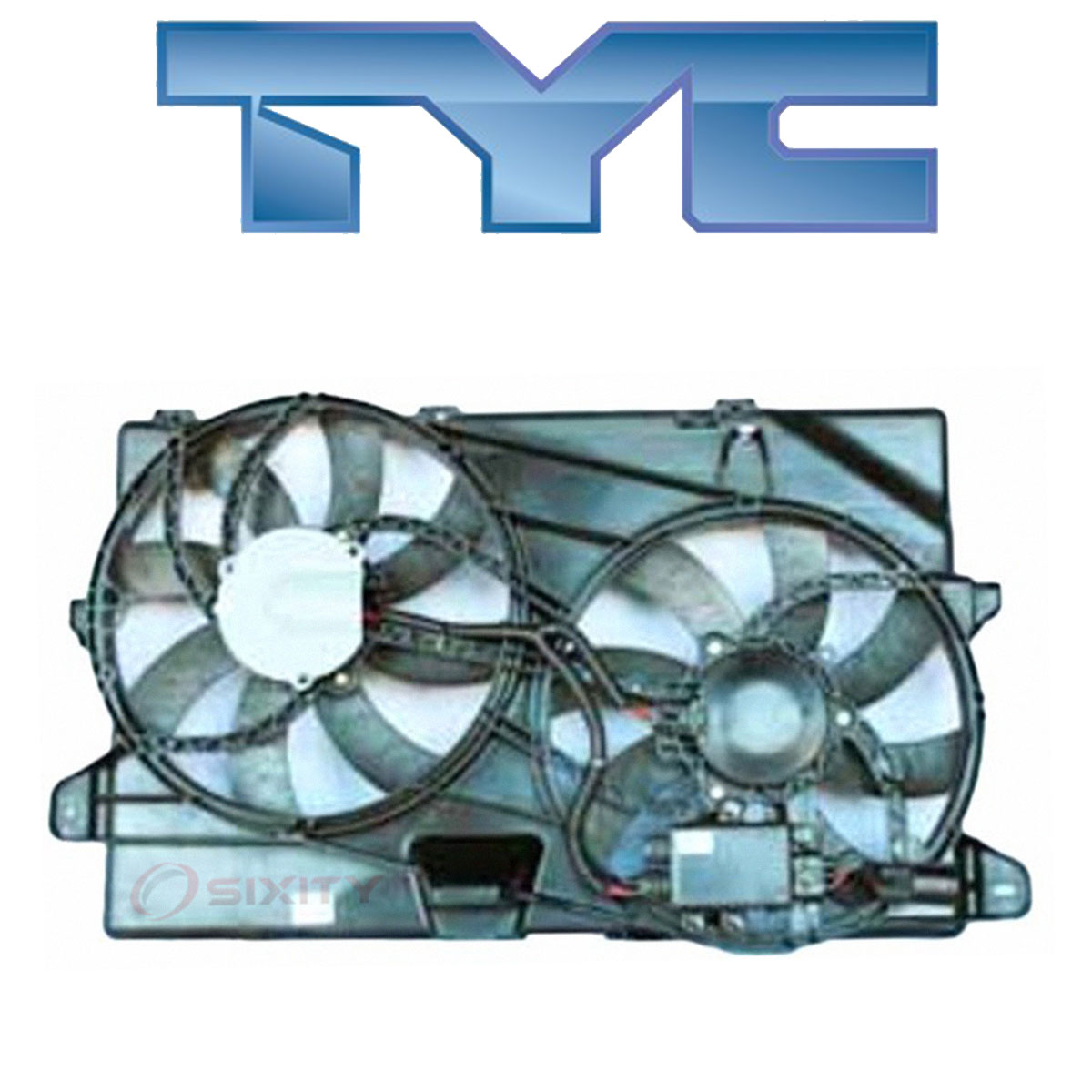 TYC 622040 Ford Edge Replacement Radiator//Condenser Cooling Fan Assembly